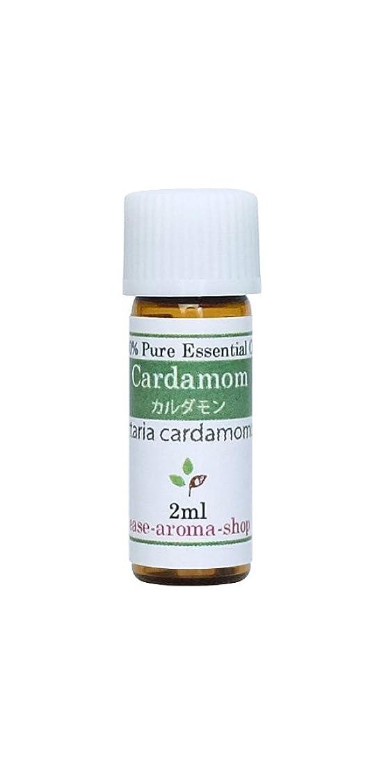 キャンペーン原点プラグease アロマオイル エッセンシャルオイル オーガニック カルダモン 2ml  AEAJ認定精油