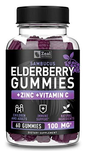 (15% OFF) Elderberry Gummies Immune Support Supplement $13.58 – Coupon Code