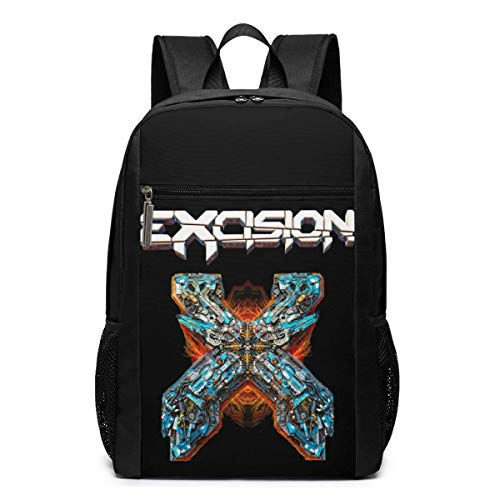 Lawenp Excision Backpack 17 Inch Laptop Bags College School Backpack Casual Daypack for Travel