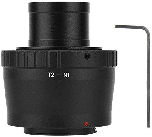 SYWJ HD Telescopio Digital Telescopio Espacial Anillo Adaptador de Lente de cumpleaños T2 N1 1.25 Pulgadas Lente de telescopio Adaptador de Ocular/Anillo convertidor para Nikon N1 Montura Cámar