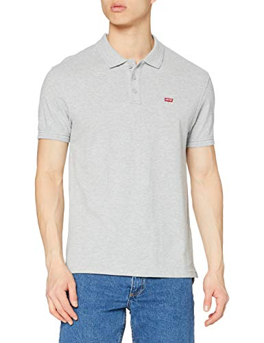 Levi's Housemark Polo, Camiseta para Hombre, Gris (M7511 HEA