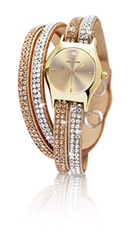 Temptation Crystal wrap Watch