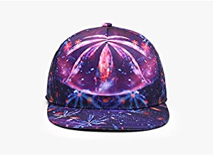 Baseball Hat Baseball Cap Trend Neutral Duck Tongue Men Women Street Dance Hip Hop Hat Graffiti Baseball Cap Hat LZHCUICAN (Color : Multi-colored, Size : 55-58CM)