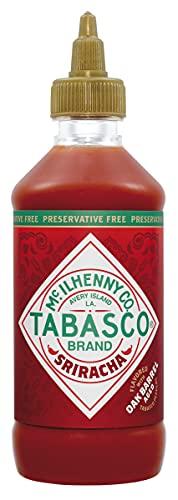 Tabasco Sriracha - Salsa Picante Sabor Suave, Elaborada Con Chiles Rojos, Ideal Para Todo Tipo De Platos, 256 ml