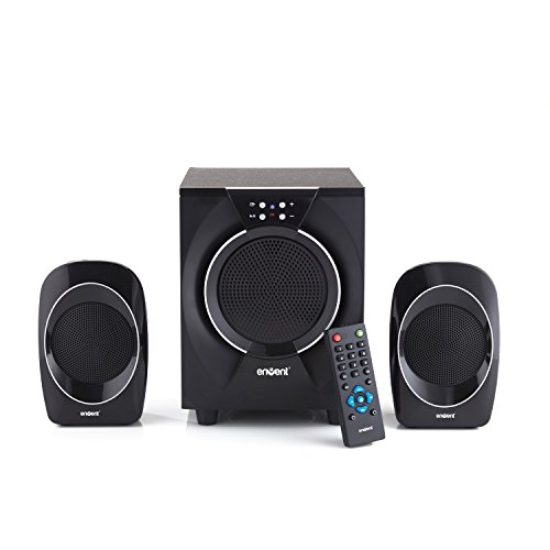 Envent Deejay 310 Multimedia Home Audio Speaker (Black)