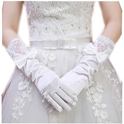 Gants de mariée de style long Gants de mariée de mariage Gants de satin