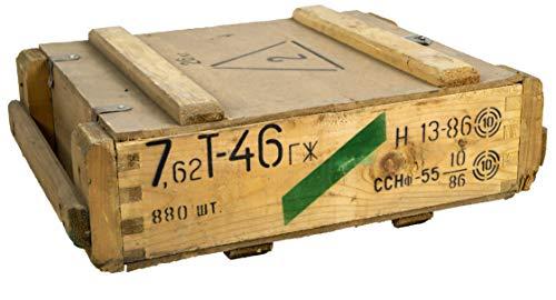 Caja de munición T45Natural-Caja para guardar CA 49x 37x 18cm Militar