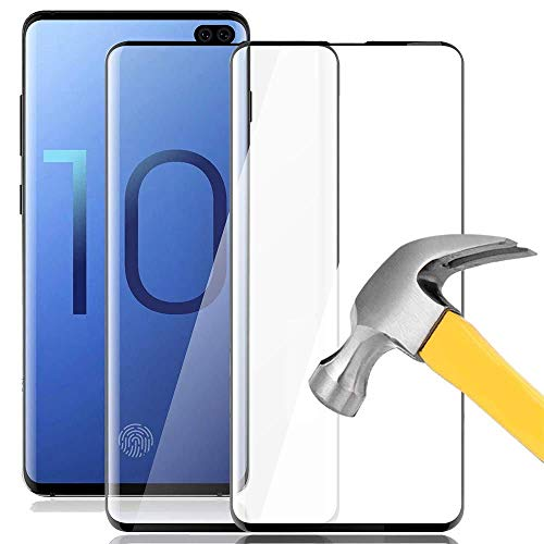 [2 Pack] Galaxy S10 Screen Protector, Keklle Case Friendly Anti-Scratch Bubble-Free High Definition 3D Touch Tempered Glass Screen Protector for Samsung Galaxy S10
