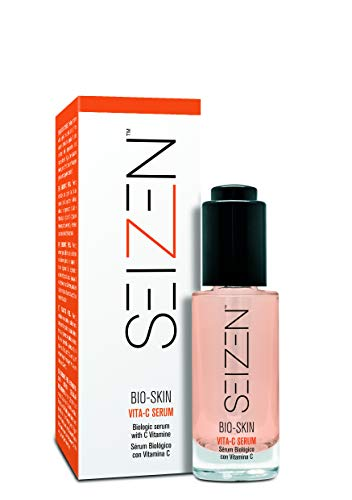 Seizen - Bio-Skin | Serum Vitamina C para Rostro Antioxidante e Iluminador - 30 Ml