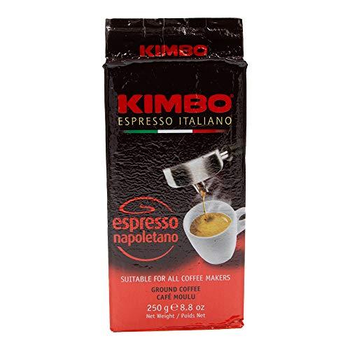 TESTPAKET KIMBO Espresso Napoletano Gusto di Napoli Macinato Fresco Kaffee gemahlen Italienisch Espresso ( 30 x 250g )