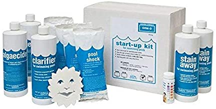 In The Swim Super Pool Opening Chemical Start Up Kit – Up to 30,000 Gallons