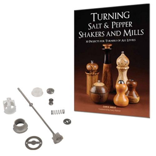 """10"""" TURNING SALT AND Pepper Mill Package"""