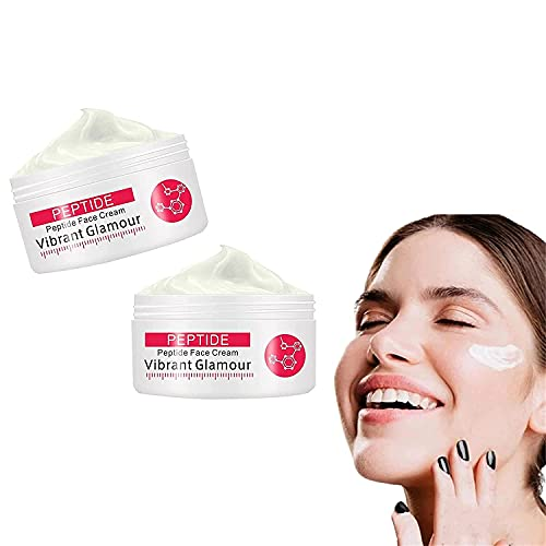 Collagen Pure Face Cream, Whitening Moisturizing Anti-Aging Vibrant Glamour Rewind Cream for Reduces Dry Lines and Fine Lines Enhances Skin Firmness