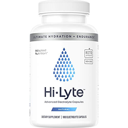 Electrolyte Replacement Tablets for Rapid Rehydration | Stops Cramps & Gentle on Stomach | Magnesium, Potassium, Sodium & Zinc + | 100 Capsules