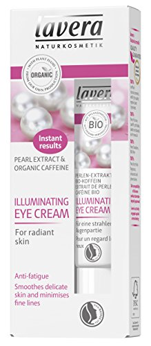 Lavera Organic Pearl Extract & Caffeine Illuminating Eye Cream 15ml