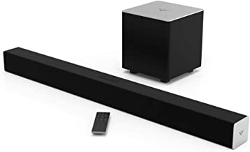 "Best VIZIO 2.1 Sound Bar SB3821-C6 with Wireless Subwoofer Bluetooth 100dB SPL, Black, 38"" Review"