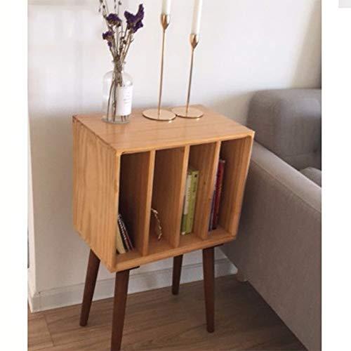 XiuHUa boekenkast, eenvoudig klein boekenrek, kinderboekenrek van massief hout, multifunctionele kast boekenrek
