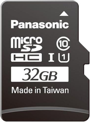 Ranking TOP6 Panasonic RP-SMGA32GAK Micro SDHC Card 32GB Free Shipping New Black UHS-I