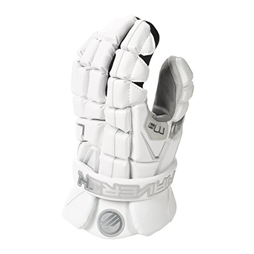 Maverik M4 Lacrosse Gloves-White-Large-13