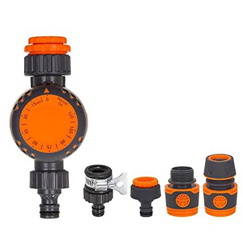 Qiujing Dispositivo de riego automático mecánico Timing Sistema de riego grifo dispositivo de riego inteligente