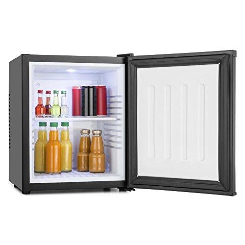 Klarstein MKS-10 - Minibar, Réfrigérateur de chambre, Classe énergétique A, 19 L, Silencieux avec 0 dB, Noir