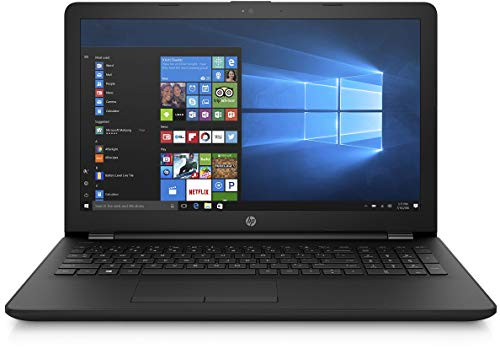 HP 15 AMD E2 15.6-inch Entry Level Laptop (4GB /1TB HDD/Windows 10 Home/Jet Black/2.04 Kgs), 15q-bw548AU