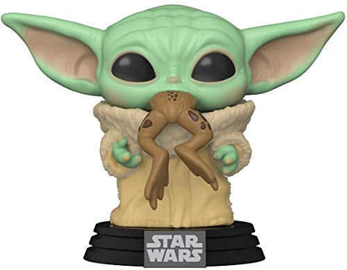 Funko- Pop Star Wars:The Mandalorian-The Child w/Frog Figura Coleccionable, Multicolor (49932)
