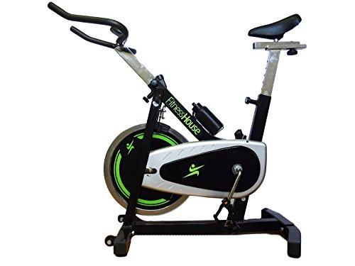 Fitness House Wizard 1.8, Bicicletta Indoor Unisex Adulto, Nero, Standard