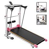 Mechanical Treadmill Fitness Equipment Home Mini Mechanical Treadmill Small Walking Machine Mute Folding