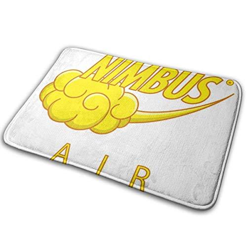 Nimbus Air Dragon Ball Z Teppich für den Außenbereich 40 cm x 60 cm Vordertürmatte Wasserdicht, rutschfest, schnell abwaschbar und widerstandsfähig gegen Schmutzteppiche für den Eingangsbereich