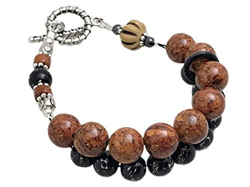 Nutmeg Spice Abacus Counting Bracelet Knitting for K Counter Max Free shipping / New 54% OFF Row