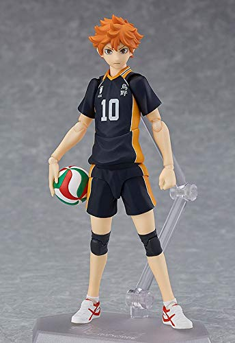 Yvonnezhang Haikyuu Figma 358 Hinata Shoyo PVC Japanische Anime Volleyball Figuren Modell Spielzeug