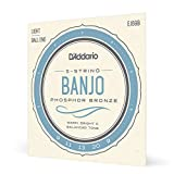 D'Addario EJ69B Cordes pour Banjo