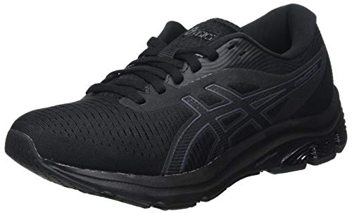 ASICS Damen Gel-Pulse 12 Road Running Shoe, Black/Black, 40 EU