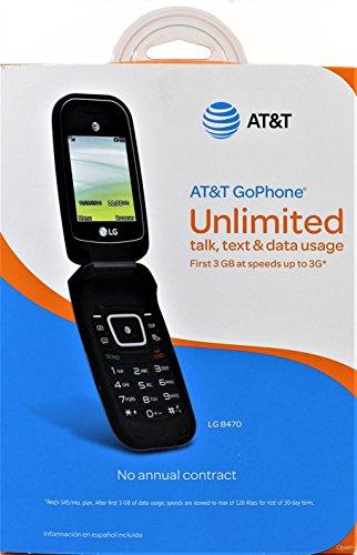 LG Prepaid Carrier Locked - (Black)