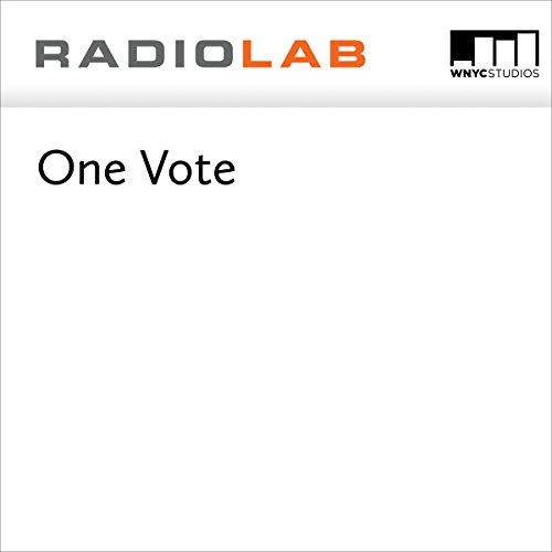 One Vote  audiobook cover art