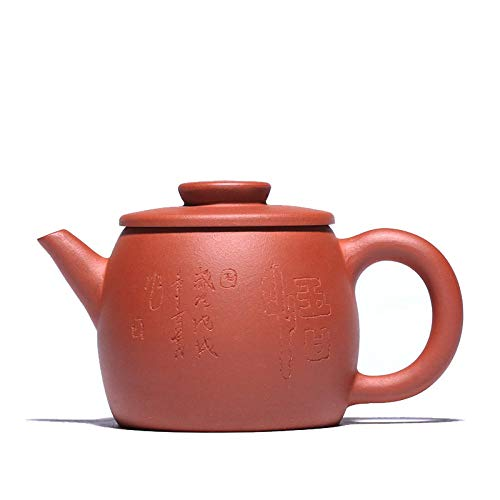 Theepot Thee Ketel 100Ml Paars Klei Theepot Erts Handgemaakte Pot Kung Fu Drinkware Pak