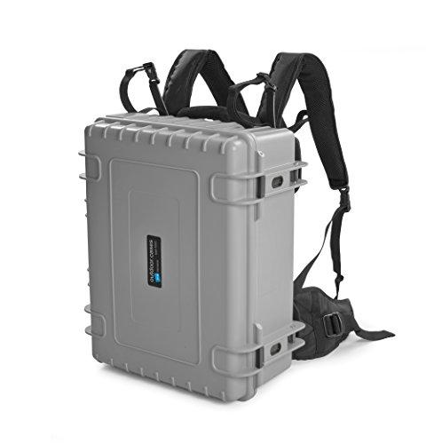 B & W Outdoor Cases Tipo 6000(Gris, vacío) Incluye Mochila portabebés Sistema–El Original