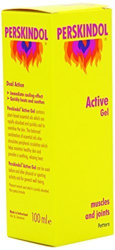 Perskindol Active Gel Dual Action Relief from Arthritic or Muscle Aches and Pains 100ml by HealthLand