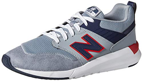 New Balance Men's 009 V1 Sneaker, Steel/Pigment, 10 D US