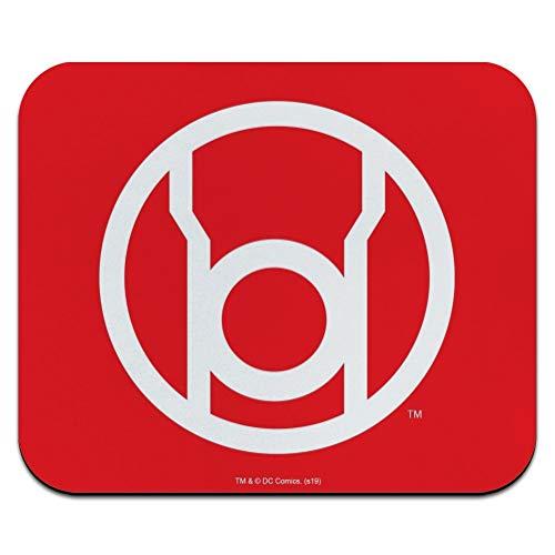 Green Lantern Blackest Night Red Lantern Logo Low Profile Thin Mouse Pad Mousepad