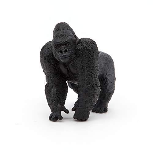 Papo 50034 Gorilla WILDTIERE DER Welt Figur, Mehrfarben