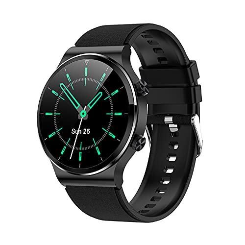 G51 Smartwatch, 1,28 Zoll Fitnessuhr mit Pulsuhren Schlafmonitor & Blutdruckmessung, Wasserdicht IP67, Umschaltbares Zifferblatt, Information Erinnerung, Aufnahmefunktion, Bluetooth-Sprachanrufe