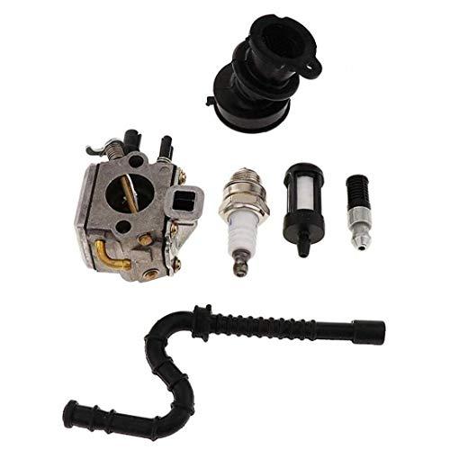 Kit carburador Con Bujía Para Stihl Ms340 Ms360 034 036 Césped Cortacésped Accesorios