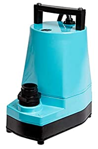 Little Giant 505005 1/6 HP Submersible Hydroponic Pump, 5-MSP, 115V, 1200 GPH - LG5MSP