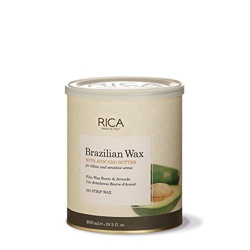 Rica Brazilian Wax with for Bikini and Face, 28 Oz