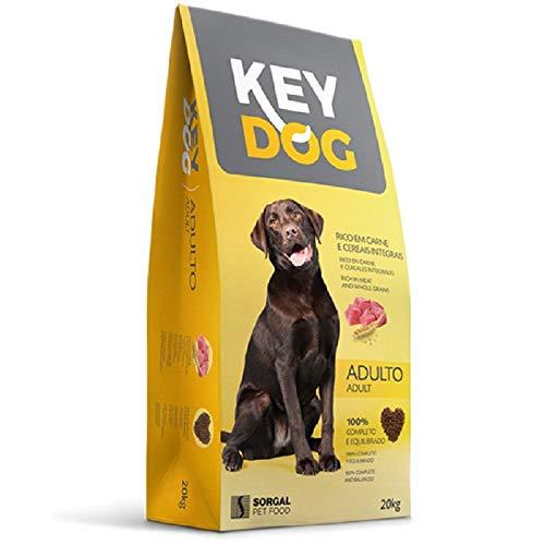 KEY DOG Pienso Perro 20 kg Mantenimiento Perros Adultos
