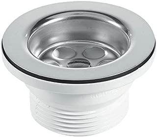 McAlpine BSW10PR 70mm Flange Centre Pin Sink Waste - White