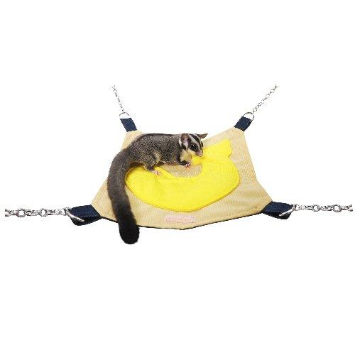 【レインボー】プチフルーツハンモック:バナナ / デグー モモンガ ハンモック