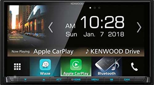 Kenwood DMX7705S Car Stereo Double Din Radio with Apple CarPlay Android Auto Bluetooth, 6.9""